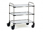 FETRA - 5005 - Stainless steel trolley 5005, 800 x 500 mm, WL39834