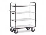 FETRA - ESD premium shelf trolley 85x50cm/500kg, WL34226