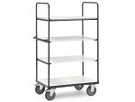 FETRA - ESD premium shelf trolley 100x60cm/600kg, WL34228