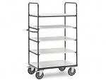 FETRA - ESD premium shelf trolley 100x60cm/600kg, WL34231