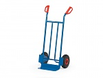 FETRA - B1115L - Tubular steel trolley B1115L, scoop: 150 x 400 mm / frame: 590 x 1150 mm, WL39858