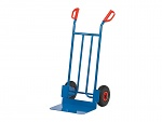 FETRA - B1116L - Tubular steel trolley B1116L, scoop: 300 x 480 mm / frame: 590 x 1150 mm, WL39859