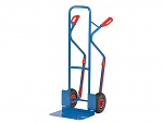 FETRA - B1331L - Tubular steel trolley B1331L, 300 x 480 mm scoop / Frame: 580 x 1300 mm, WL39862