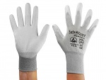 SAFEGUARD - SG-grey-JCA-302-L - ESD gloves mixed fabric, L, WL39623