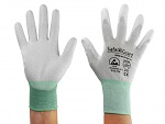 SAFEGUARD - SG-grey-JCA-302-M - ESD gloves mixed fabric, M, WL39622