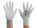 SAFEGUARD - SG-grey-JCA-302-S - ESD gloves mixed fabric, S, WL39621