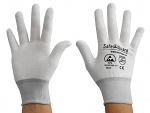 SAFEGUARD - SG-white-JNW-100-L - ESD Handschuh Mischgewebe, L, WL36569