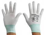 SAFEGUARD - SG-white-JNW-100-M - ESD Handschuh Mischgewebe, M, WL36568