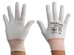 SAFEGUARD - SG-white-JNW-100-XS - ESD Handschuh Mischgewebe, XS, WL36847