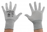 SAFEGUARD - SG-grey-JCA-100-L - ESD Handschuh Nylon, L, WL37436