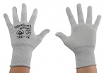 SAFEGUARD - SG-grey-JCA-100-S - ESD gloves, grey, size S, WL37434