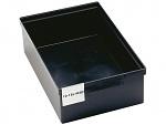 TRESTON - 10-18L-4ESD - ESD-Lagerkasten schwarz, Volumen 18 Liter, WL36811