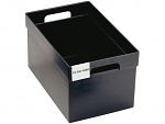 TRESTON - 10-36L-4ESD - ESD storage bin black, volume 36 liter, WL36812