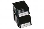 TRESTON - 1520-4ESD - ESD stacking bin, black, WL36985