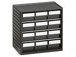 TRESTON - 294-4ESD - ESD Small parts storage cabinet 290 mm, 12 drawers, WL36936
