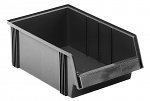 TRESTON - 3050-4ESD - ESD stacking bin, black, WL36991