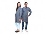 SAFEGUARD - Pro Line - 3XS - ESD lab coat Pro Line grey, size 3XS, WL41042