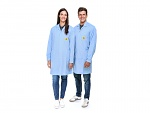 SAFEGUARD - Pro Line - 3XS - ESD lab coat Pro Line light blue, size 3XS, WL41020