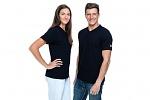 SAFEGUARD - SafeGuard PRO - ESD T-shirt, V-neck black, XS, WL43944