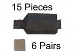 THERMALTRONICS - DS-CP-1 - Filterwolle (6 Paar) und Lotkammer (15 Stück) (Kombi,-Pack), WL37493