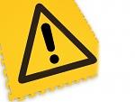 ECOTILE - ecotile flooring - Floor marking tile LOGO danger, WL41936