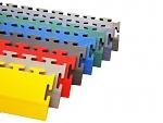 ECOTILE - ecotile Flooring - Bodenrampe gelb, von 7mm auf 1mm, gelb, WL40028