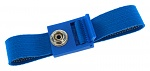 SAFEGUARD - SAFEGUARD ESD PRO - ESD wristband light blue, press stud = 10 mm, WL19751