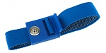 SAFEGUARD - SAFEGUARD ESD PRO - ESD wristband light blue, press stud = 3 mm, WL19531
