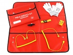 SAFEGUARD - SafeGuard Pro Plus - SWISS ESD FIELD SERVICE KIT, red, WL44376