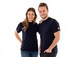 SAFEGUARD - SafeGuard PRO - ESD T-Shirt rundhals mit Brusttasche, blau, XS (de), WL44551