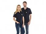 SAFEGUARD - Safeguard PRO PLUS - ESD polo shirt navy blue, S, WL44387