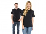 SAFEGUARD - SafeGuard PRO - ESD polo shirt black, XS, WL43827