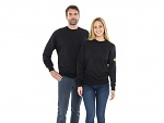 SAFEGUARD - SafeGuard ESD - ESD sweatshirt, round neck black, XS, WL43772