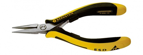 BERNSTEIN - 3-996-15 - TECHNICline ESD long nose pliers, extremely slimline, WL43215