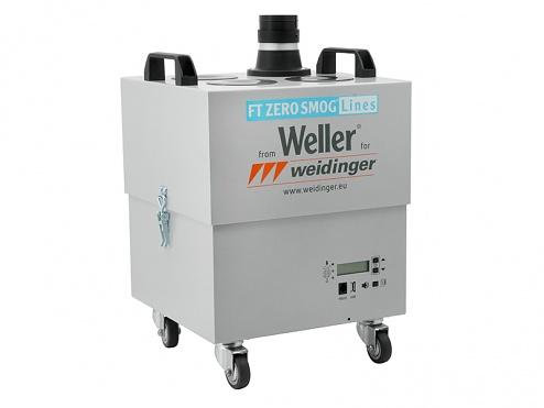 WELLER - ZERO-SMOG-4V - Fume extraction unit for 1-4 workstations, WL27094