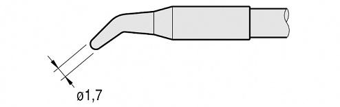 JBC - C250-409 - Soldering tip for AL250-A, WL22871