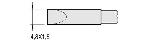 JBC - C250-411 - Soldering tip for AL250-A, WL22873