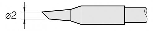 JBC - C250-414 - Soldering tip for AL250-A, WL25284