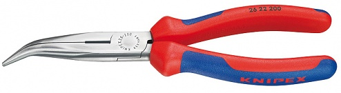 KNIPEX - 26 22 200 - Snipe nose pliers, WL13351