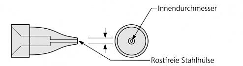 PLATO - HK-0879 - Desoldering tip for HAKKO 809, WL21235