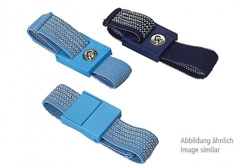 WARMBIER - ESD Handgelenkband, hellblau, 7 mm DK, blau, WL44938