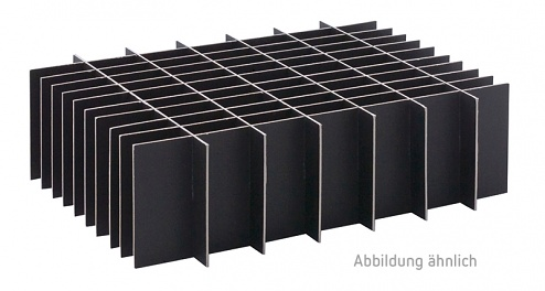 HANS KOLB - 05-CTRL - ESD-Stegeinsatz lang, ungesteckt, 295 x 28 mm, schwarz, WL31537