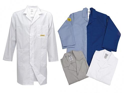HB SCHUTZBEKLEIDUNG - Conductex KI70-KB-D-M-000 - ESD Arbeitsmantel Damen, blau, M, WL30168