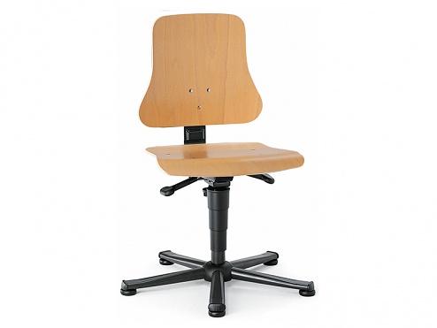 BIMOS - 9203-3000 - Solitec 1 work chair, plywood beech, WL40202
