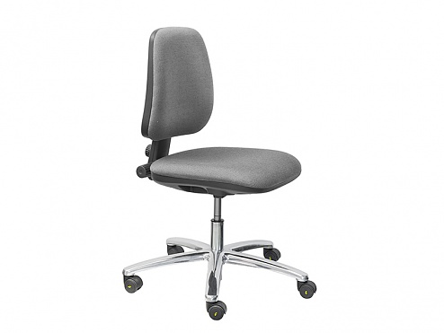 THRONA - VL101AS-ESD2-1601 - ESD work chair BASIC/grey, WL28290