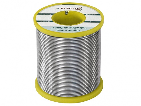 ELSOLD - Flux type Z1 (lead-free) - Wire Sn96.5Ag3Cu0.5 / 0.75 mm - 1 kg, WL30120