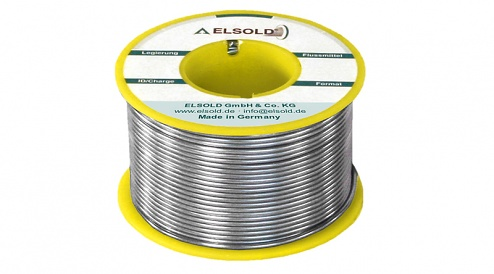 ELSOLD - Flux type C3 (lead-free) - Wire Sn96.5Ag3Cu0.5 / 0.5 mm - 500g, WL30111