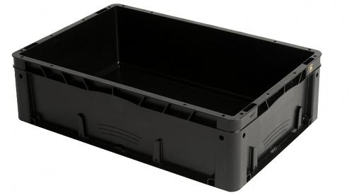 WEZ - 6417.060. - ESD-Behälter 600x400x175 mm, WL35708