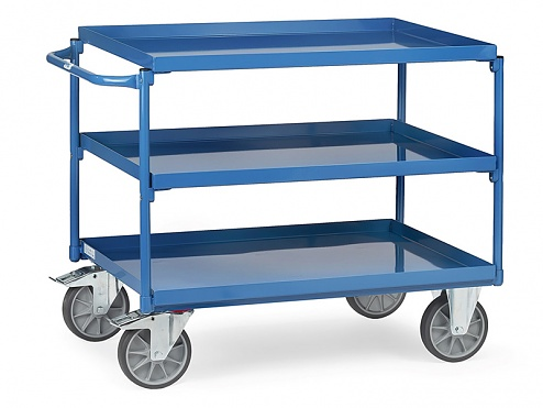 FETRA - 4832 - Table top carts with trays 4832, 1000 x 700 mm, WL39827