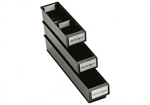 TRESTON - 4010-4ESD - ESD-Schublade, schwarz, WL36965